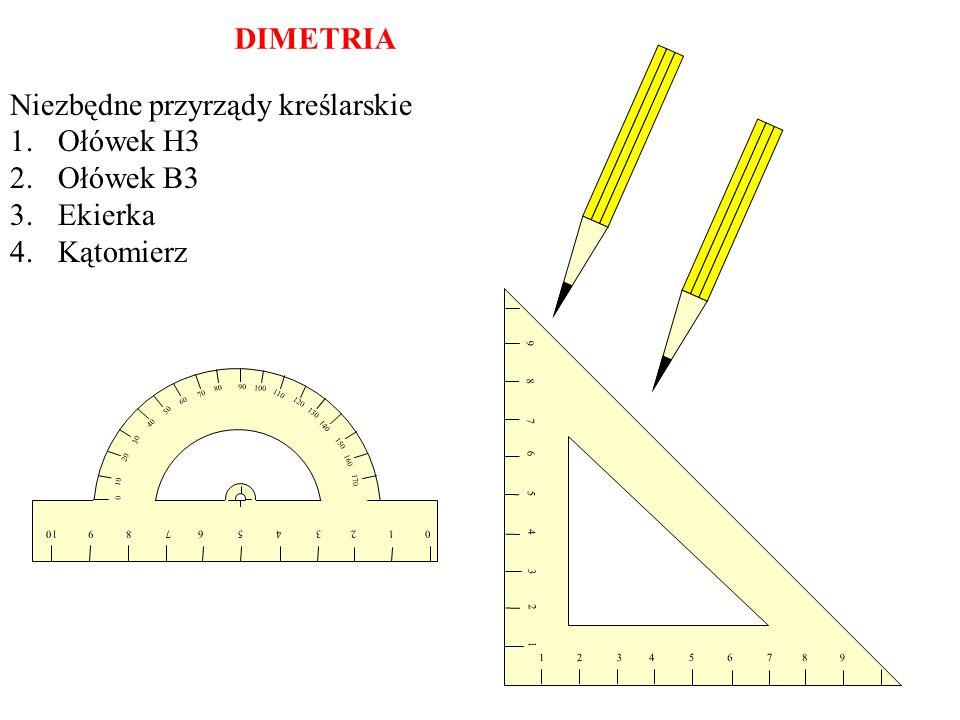 Narysuj odcinek długości 40 mm wzdłuż osi szerokości. 1 2 3 4 5 6 7 8 9 9 8 7 6 5 4 3 2 1