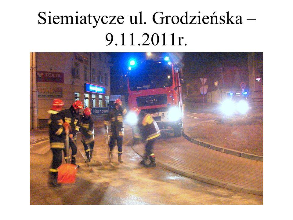 Siemiatycze ul. Grodzieńska – 9.11.2011r.