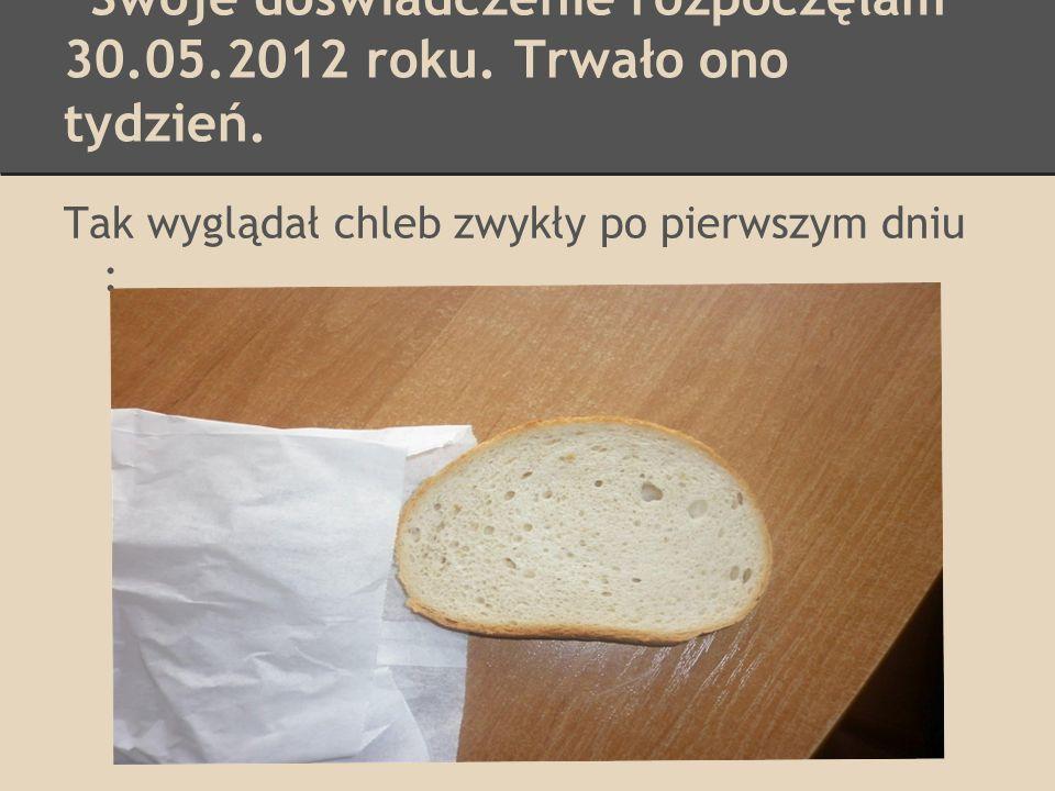 Chleb żytni : Bez zmian :