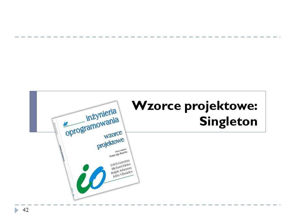 Wzorce projektowe: Singleton 42