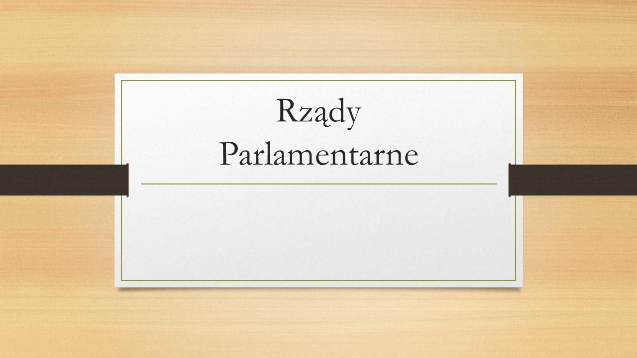 Rządy Parlamentarne