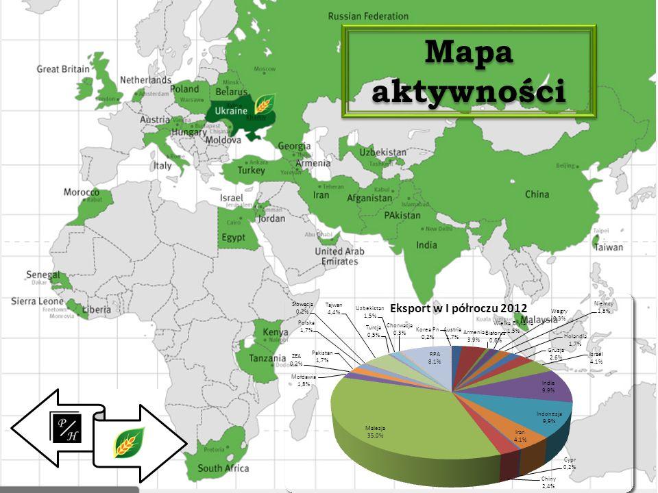 Mapa aktywności.