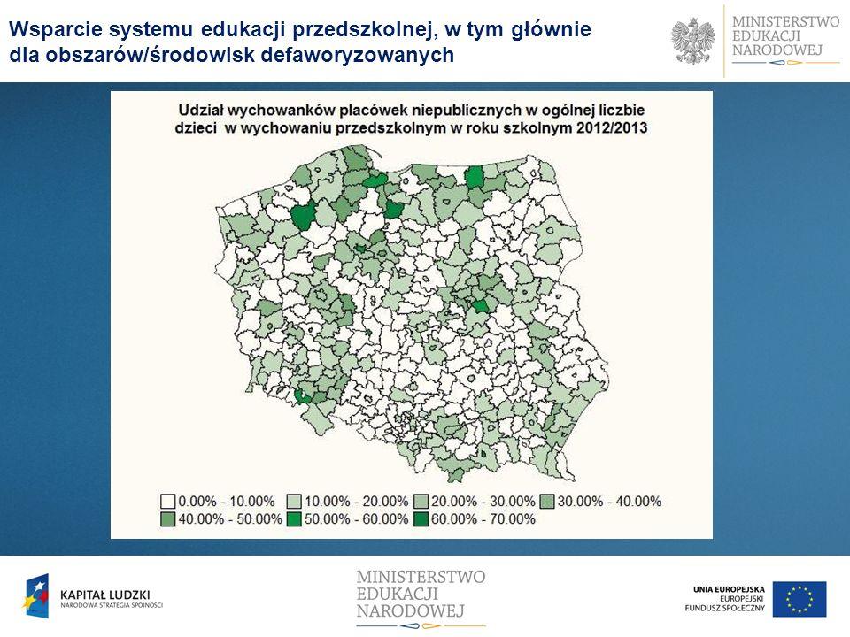 Od roku szkolnego 2008/2009 do roku szkolnego 2012/2013 w szkołach dla dzieci i młodzieży (bez szkół policealnych) liczba uczniów zmalała o 582 tys.
