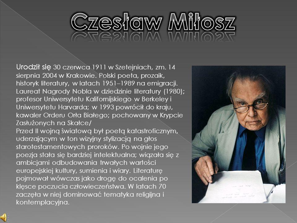 Urodził się 30 czerwca 1911 w Szetejniach, zm.14 sierpnia 2004 w Krakowie.