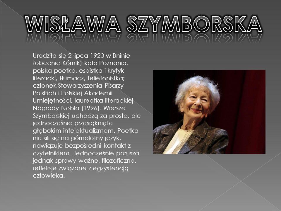 Urodziła się 2 lipca 1923 w Bninie (obecnie Kórnik) koło Poznania.
