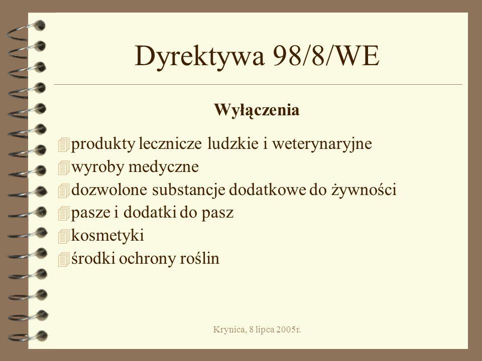 Krynica, 8 lipca 2005r.