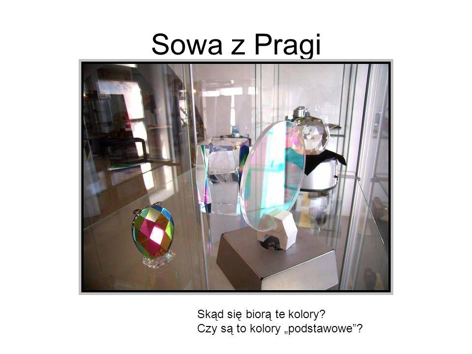 Sowa z Pragi Skąd się biorą te kolory? Czy są to kolory podstawowe?