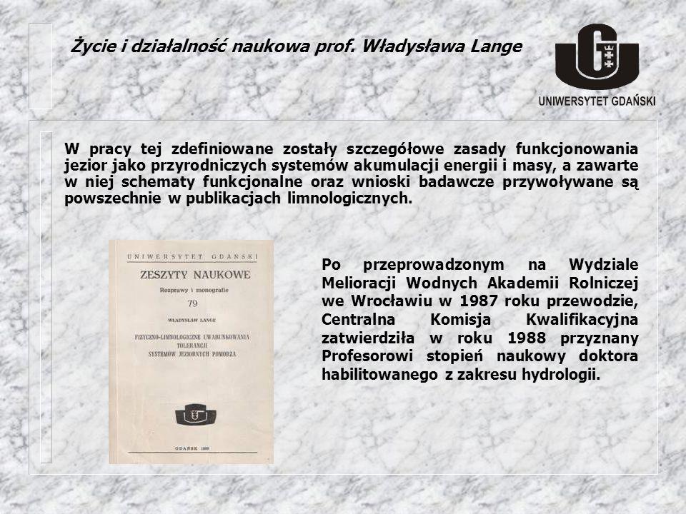 Działalność edukacyjna prof.