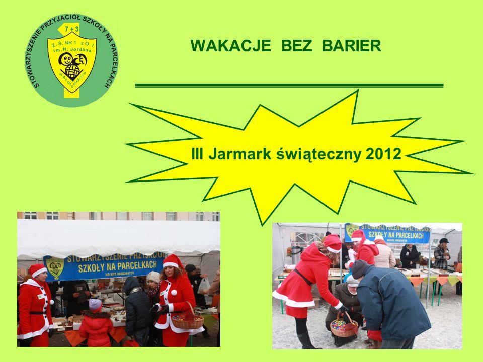 III Jarmark świąteczny 2012