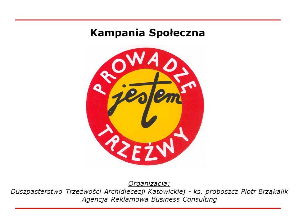 Kampania Społeczna Organizacja: Duszpasterstwo Trzeźwości Archidiecezji Katowickiej - ks. proboszcz Piotr Brząkalik Agencja Reklamowa Business Consult
