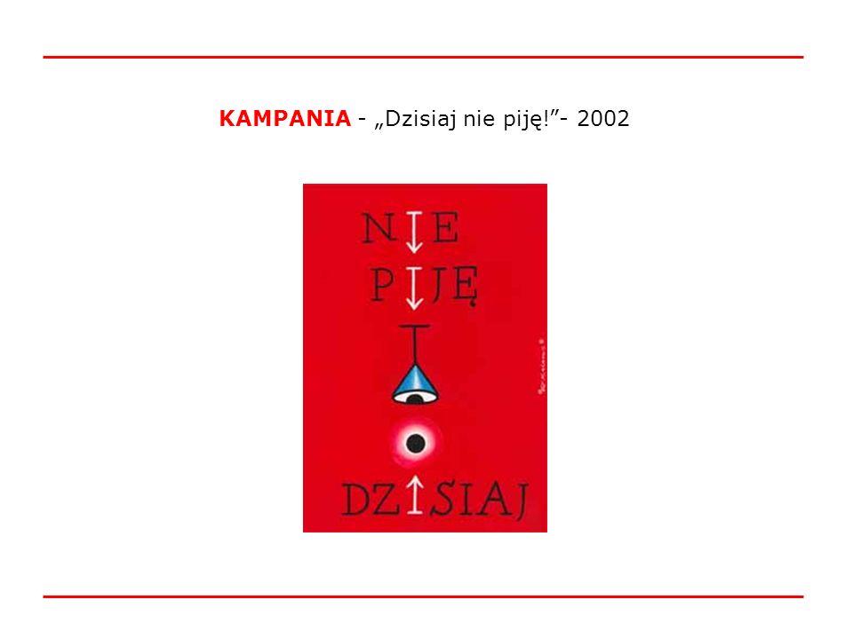KAMPANIA - Dzisiaj nie piję!- 2002