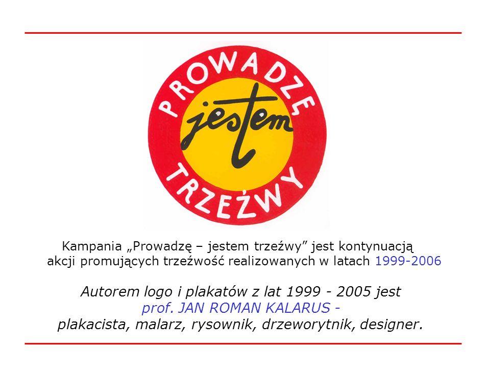 Kampania Prowadzę – jestem trzeźwy jest kontynuacją akcji promujących trzeźwość realizowanych w latach 1999-2006 Autorem logo i plakatów z lat 1999 -