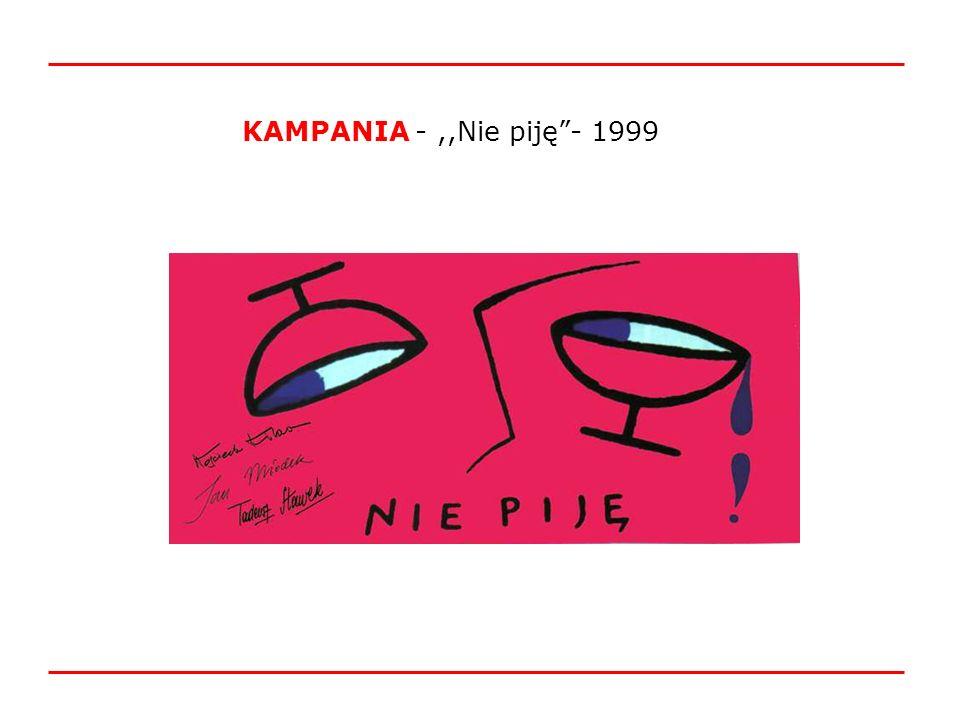 KAMPANIA -,,Nie piję- 1999