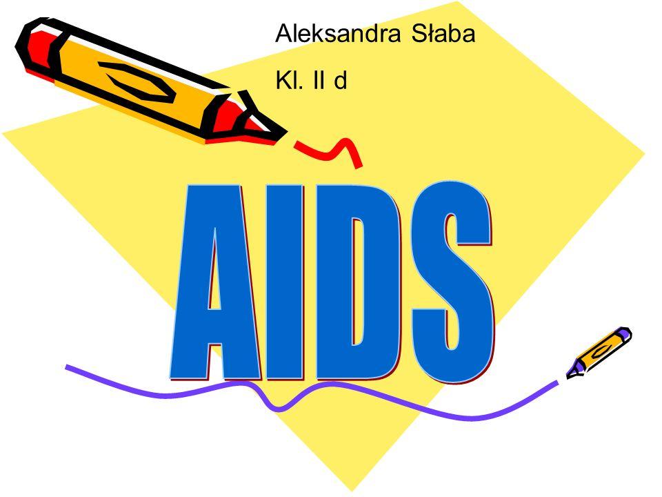 AIDS (ang.aquired immunodeficiency syndrome) oznacza zespół nabytych niedoborów immunologicznych.