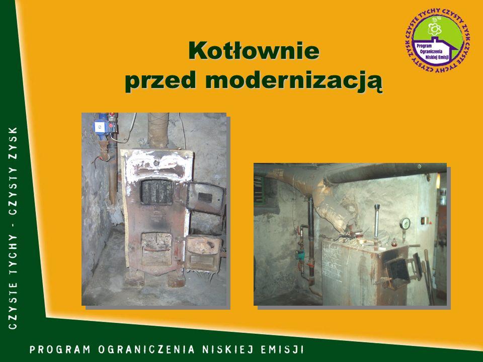 Kotłownie przed modernizacją