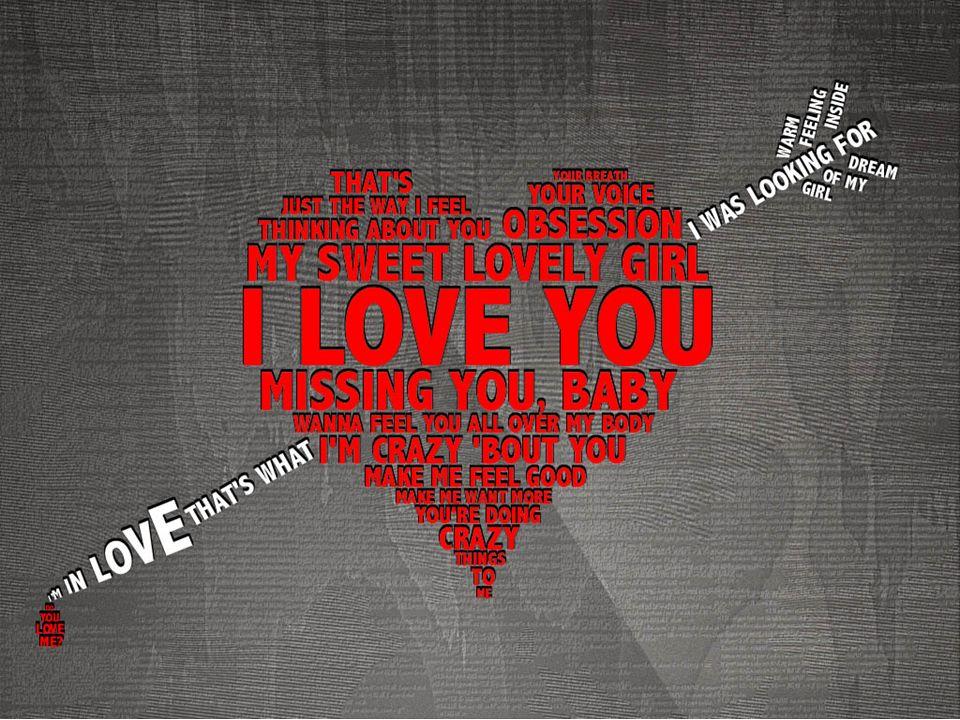Mam tak wiele, ale miłość do Ciebie pochłania wszystko.