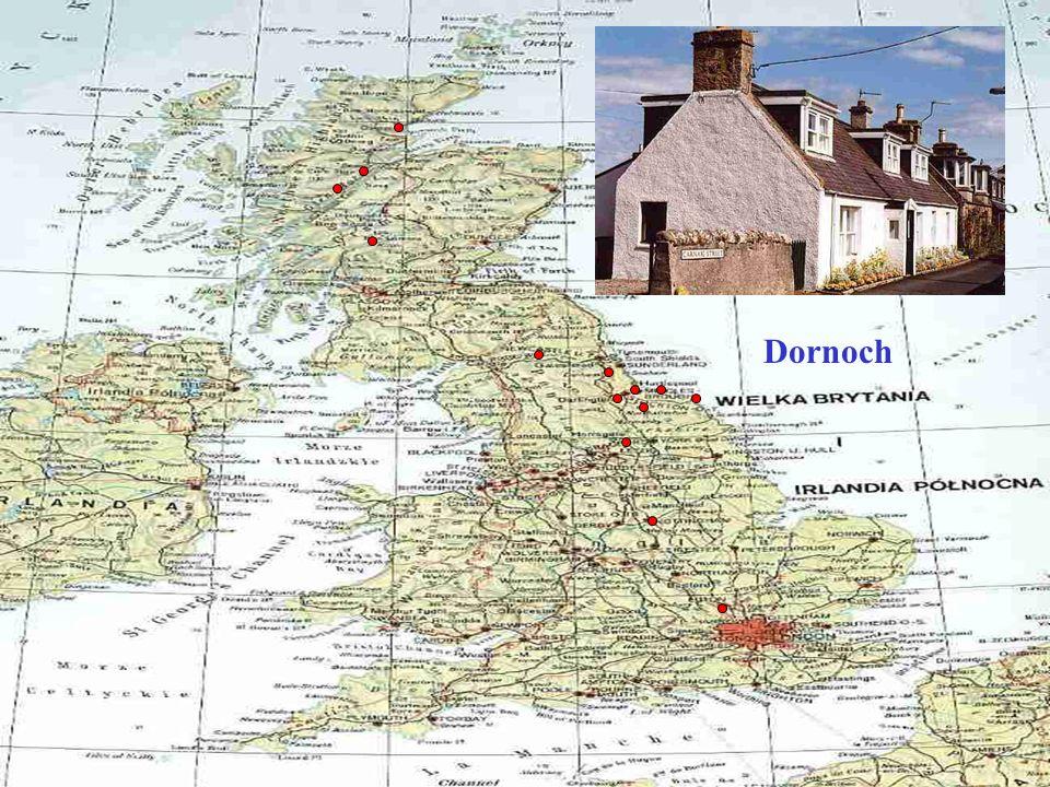 Urquhart - jedyny zamek nad Loch Ness...z którego wyłania się Nessi