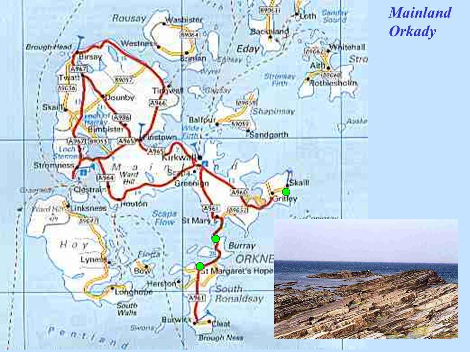 Mainland Orkady Na powitanie groźne wraki ze Skapa Flow