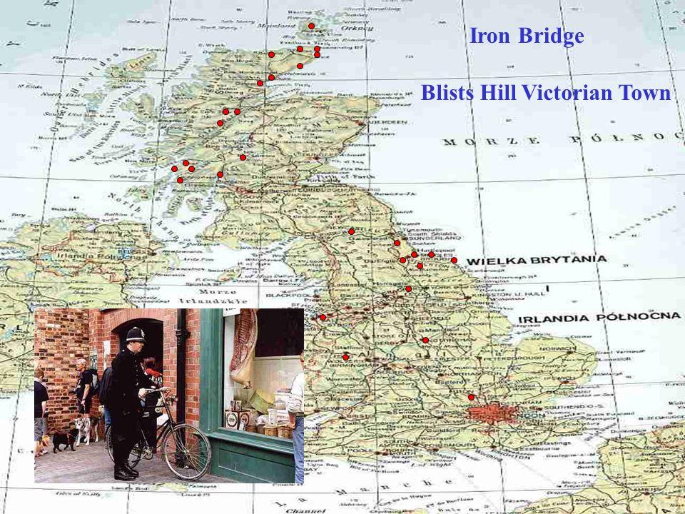 Pierwszy żelazny most świata (1779) Iron Bridge