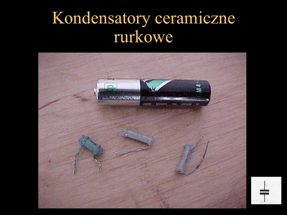 Kondensatory ceramiczne rurkowe