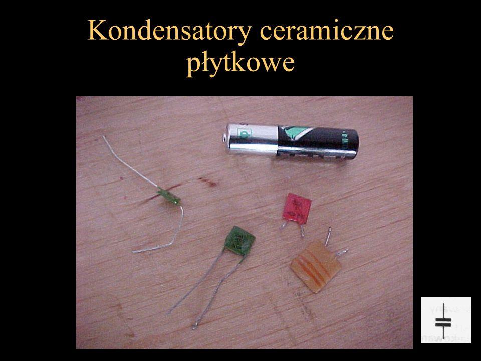Kondensatory ceramiczne płytkowe