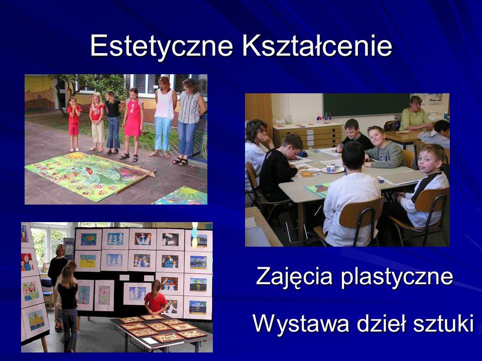Estetyczne Kształcenie Zajęcia plastyczne Wystawa dzieł sztuki