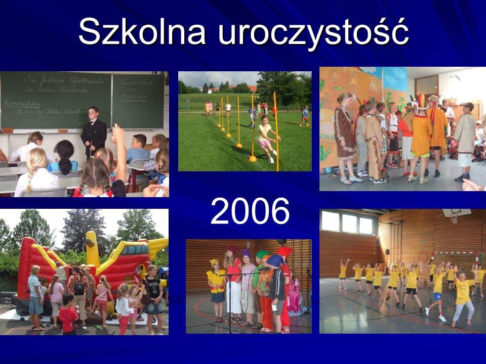 Szkolna uroczystość 2006