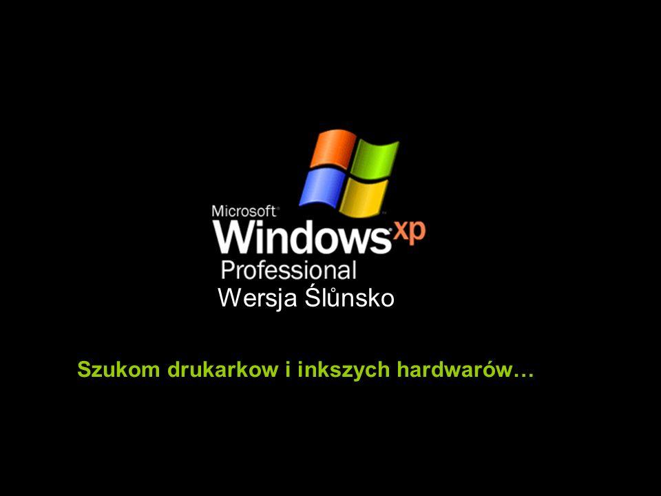 Szukom drukarkow i inkszych hardwarów… Wersja Ślůnsko
