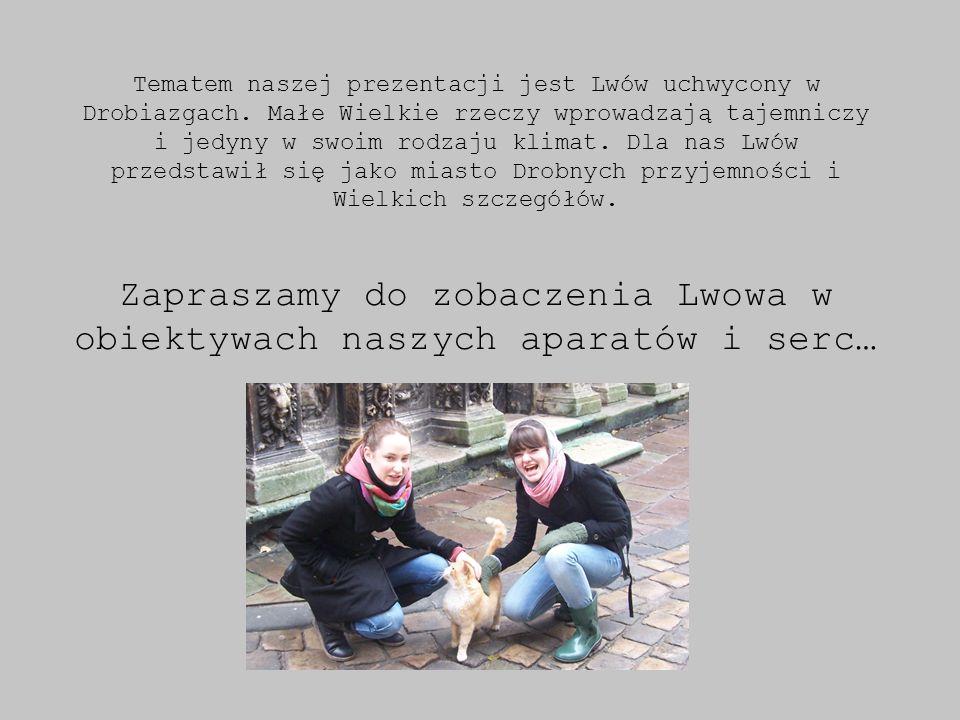 Tematem naszej prezentacji jest Lwów uchwycony w Drobiazgach.