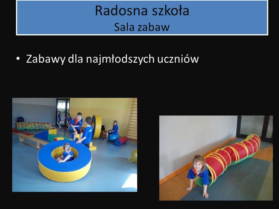 Radosna szkoła Sala zabaw Zabawy dla najmłodszych uczniów