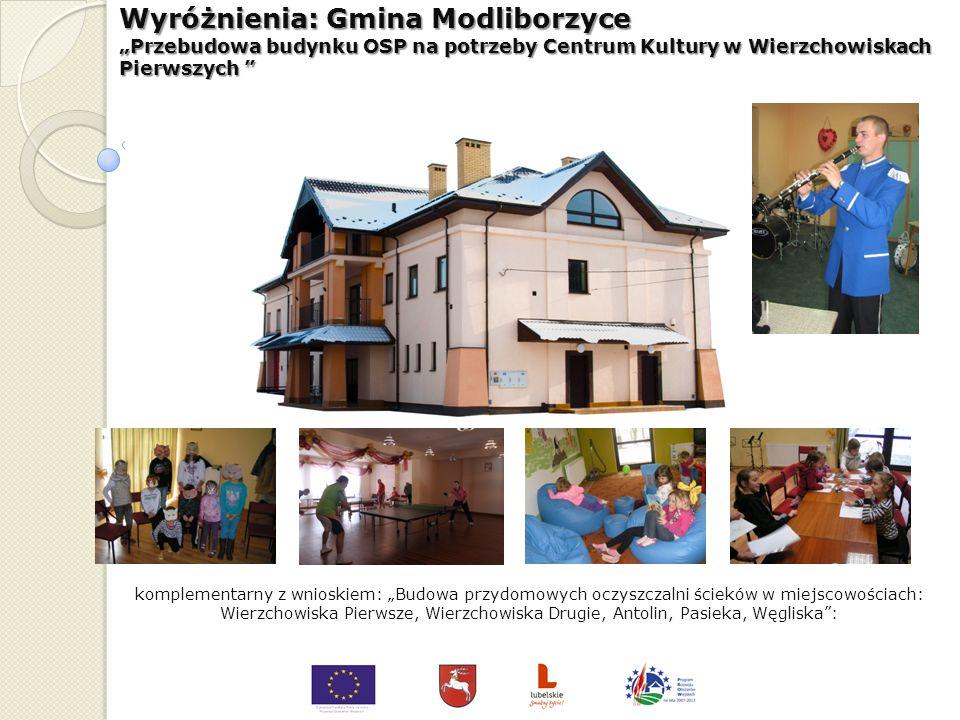 Wyróżnienia: Gmina Końskowola Stara Wieś - bulwar nad stawami, miejscem rekreacji i aktywnego wypoczynku komplementarny z wnioskiem: Dni Końskowoli: