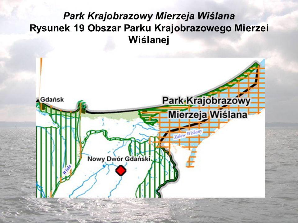 Park Krajobrazowy Mierzeja Wiślana Rysunek 19 Obszar Parku Krajobrazowego Mierzei Wiślanej