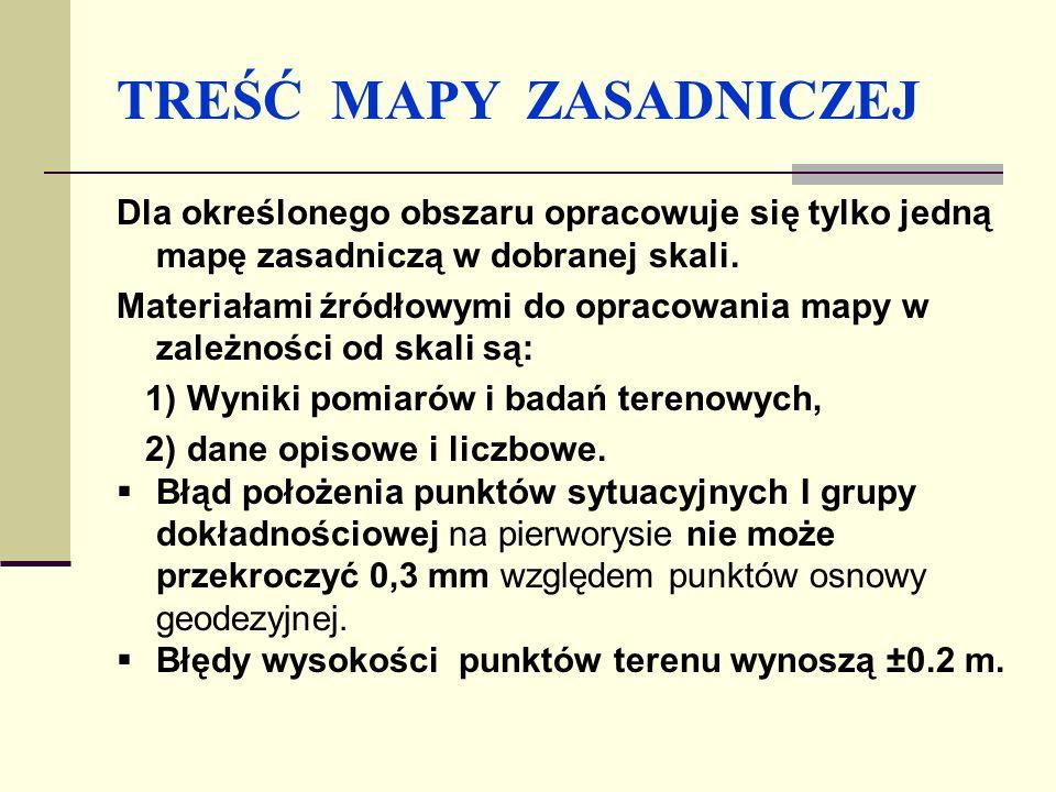 Metryka mapy zasadniczej Metryka mapy zasadniczej jest podstawowym dokumentem, który obrazuje przebieg opracowania tej mapy.