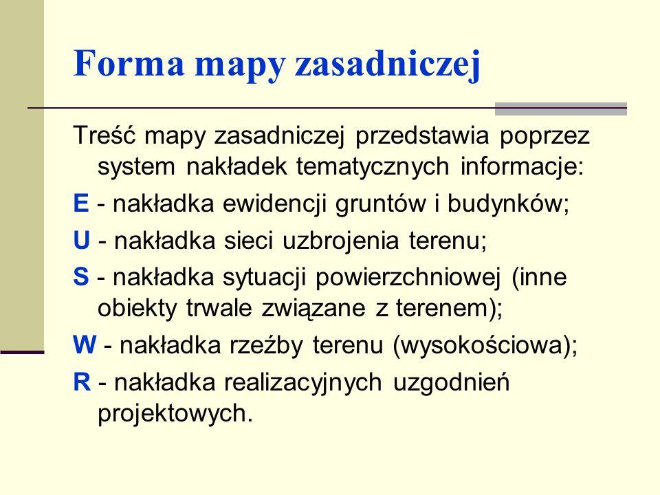 MAPA EWIDENCJI GRUNTÓW I BUDYNKÓW (KATASTRALNA) Mapa katastralna stanowi podstawowy materiał kartograficzny wykorzystywany do celów prawnych i różnorodnych potrzeb gospodarki narodowej, a w szczególności: gospodarki ziemią; planowania przestrzennego; projektowania lokalizacji inwestycji.