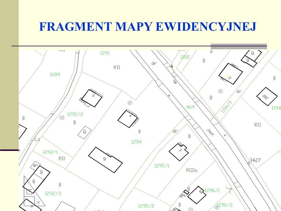 Mapa numeryczna (cyfrowa) Mapa cyfrowa to baza danych, która zawiera jednoznaczne określenie położenia obiektu na Ziemi w postaci grafiki komputerowej.