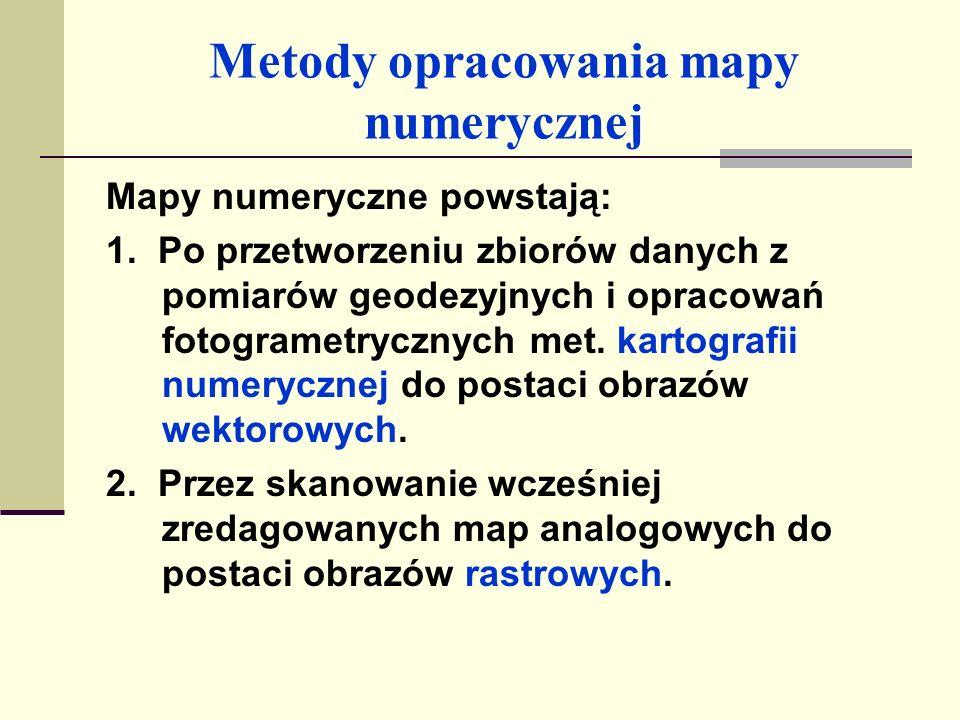 Metody opracowania mapy numerycznej 3.