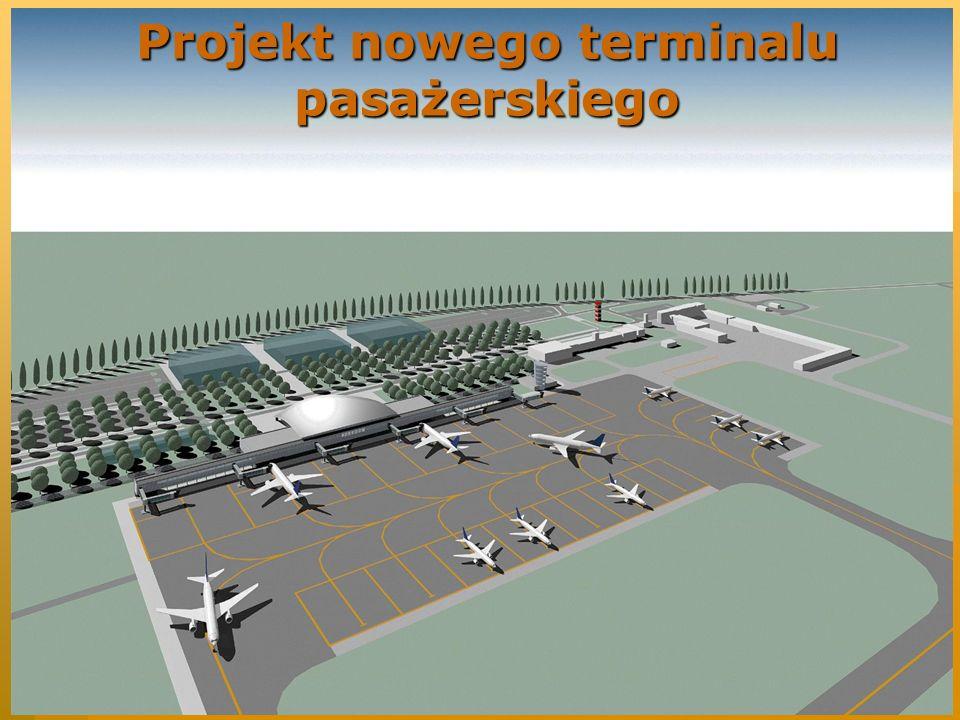 Projekt nowego terminalu pasażerskiego
