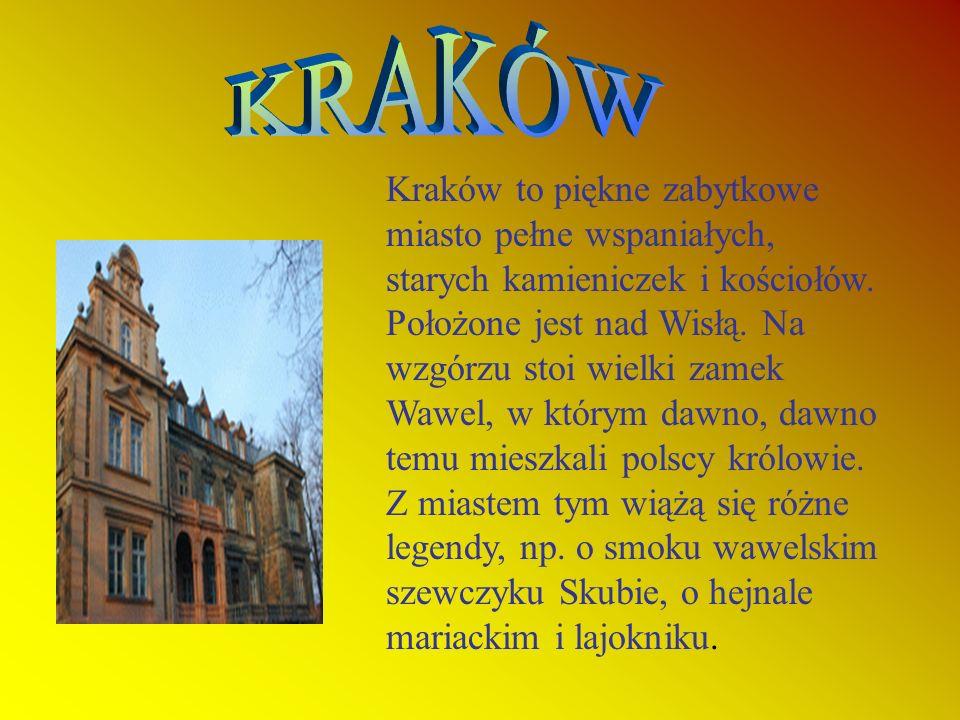 Kraków Warszawa Bałtyk Tatry Mazury