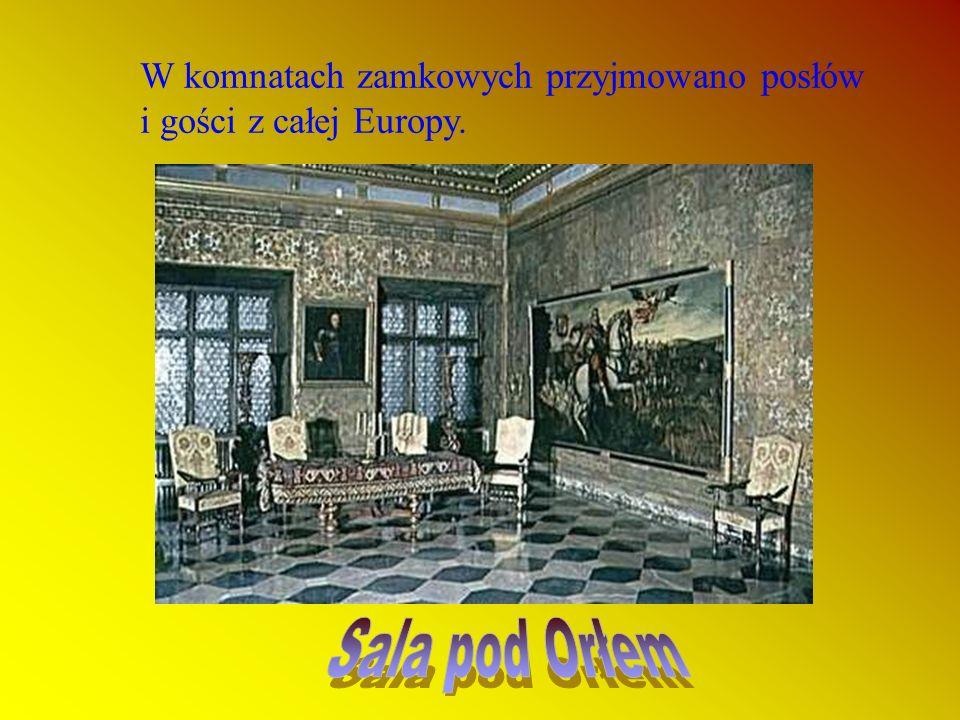 Wawel, to rezydencja Jagiellonów.