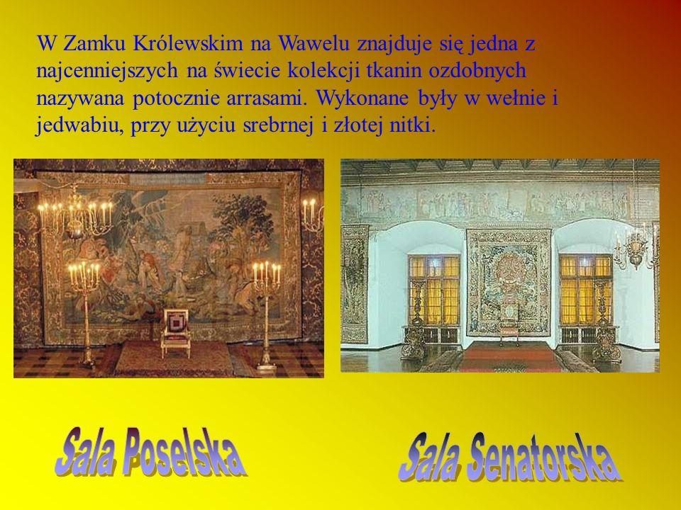 W komnatach zamkowych przyjmowano posłów i gości z całej Europy.