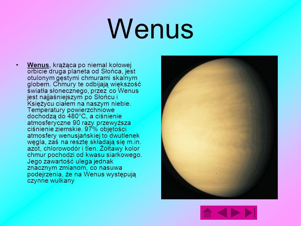 Merkury Merkury jest planetą krążącą najbliżej Słońca.
