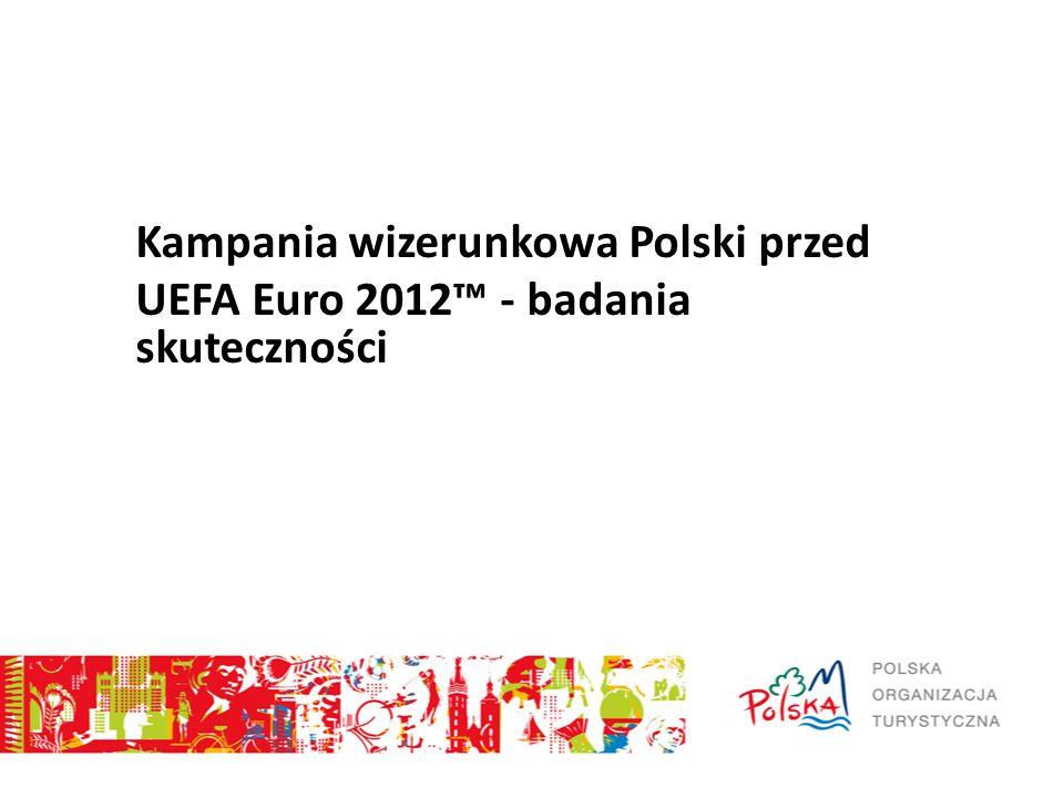 Kampania wizerunkowa Polski przed UEFA Euro 2012 - badania skuteczności