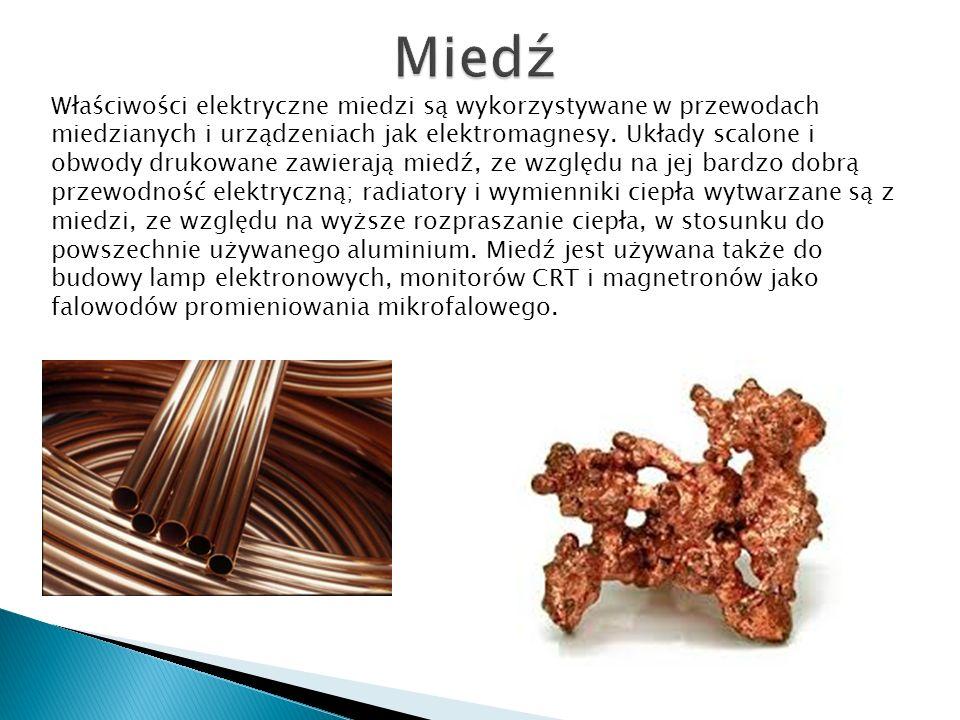 Niezwykle często pallad stanowi istotny surowiec wykorzystywany do produkcji szeroko rozumianych drutów, prętów oraz specjalistycznych złączek i przew