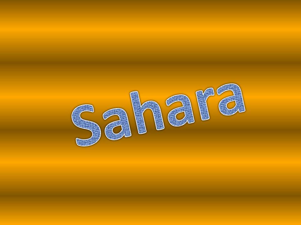 Sahara… Strefa pustynna położona w północnej Afryce.