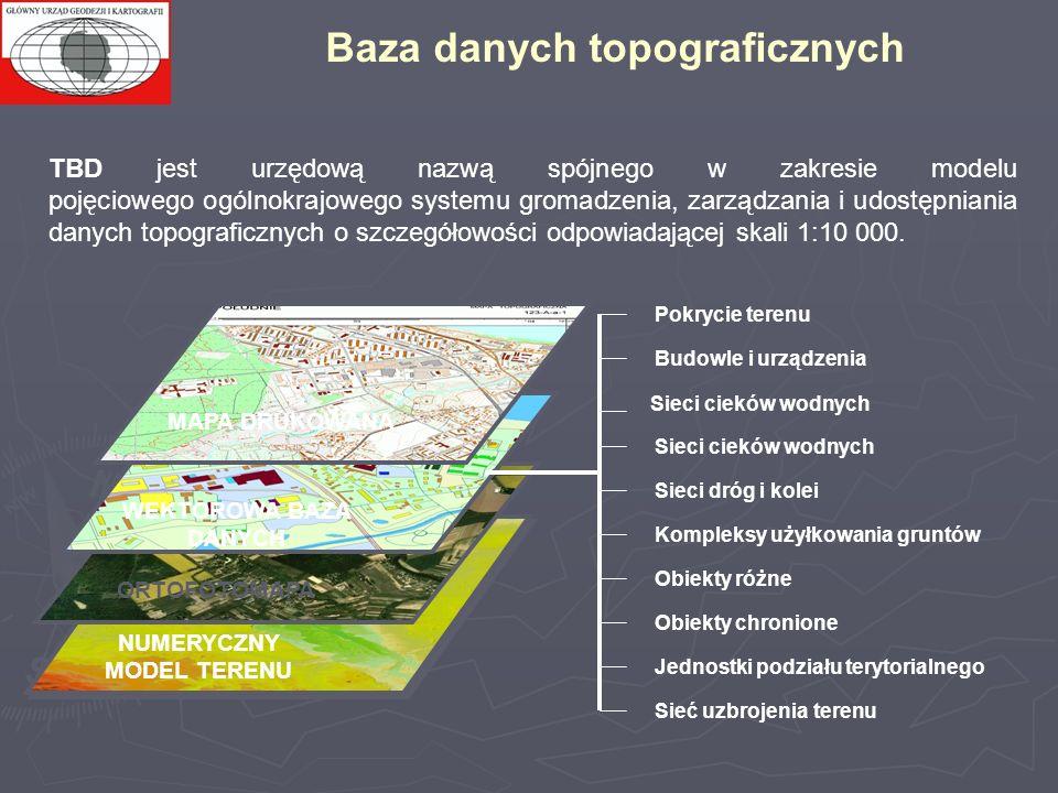 TBD jest urzędową nazwą spójnego w zakresie modelu pojęciowego ogólnokrajowego systemu gromadzenia, zarządzania i udostępniania danych topograficznych