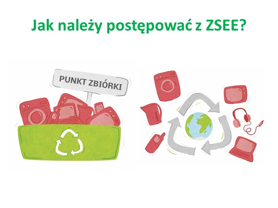 Wyrzucanie elektrośmieci w miejscach nie przeznaczonych do tego jest zabronione.