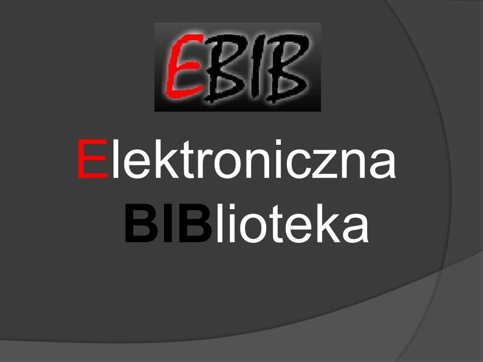 Elektroniczna BIBlioteka