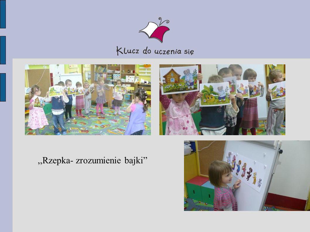 ,,Rzepka- modelowanie kinestetyczne i wizualno- przestrzenne bajki oraz sprawdzanie…