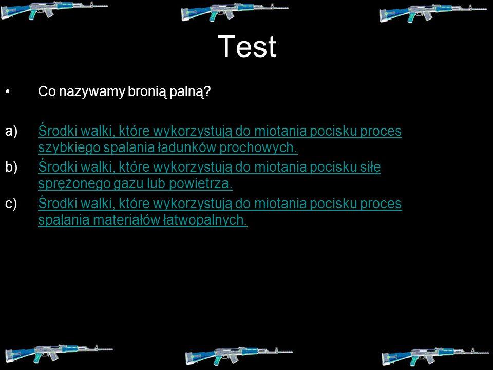 Test Z jakiego względu na wyposażeniu jednostek specjalnych znajdują się noże szturmowe i kusze? a) Ze względu na wagę. b) Ze względu na ciche działan