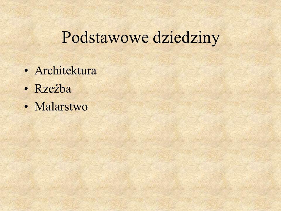 Architektura różni się ze względu na pochodzenie i funkcję sakralnaświecka Bazylika w Krakowie Złota kamienica w Gdańsku